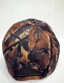Бейсболка, кепка L-KRAFT камуфляж (осенний лес)