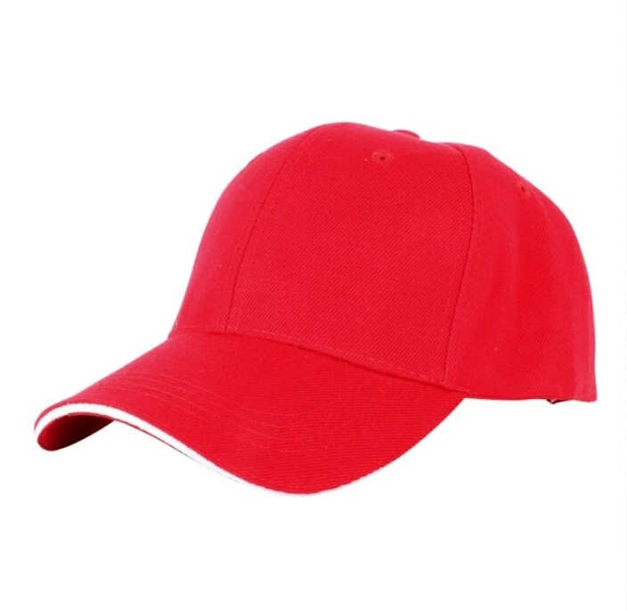 Бейсболка L-KRAFT красная