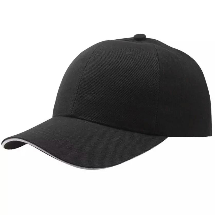 Бейсболка L-KRAFT чёрная