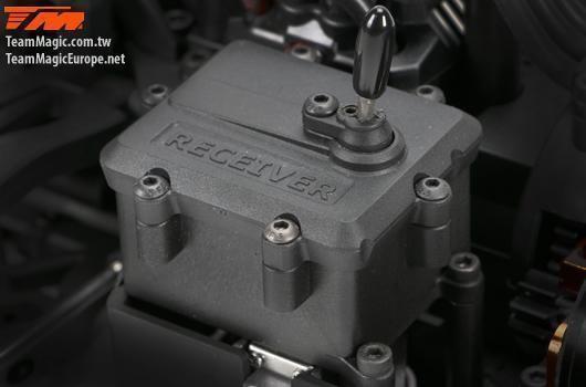 Автомодель р/у монстр 1:10 Team Magic E5 коллекторный ARTR (серый)