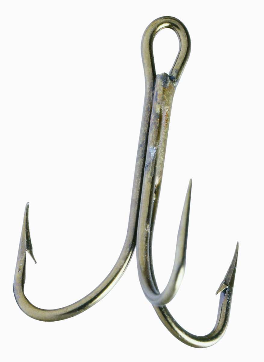 Крючок-тройник Balzer Camtec №1  5шт.