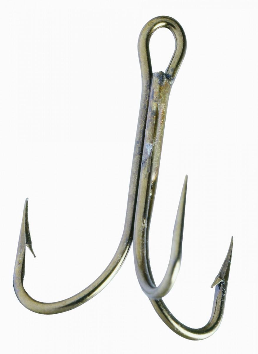 Крючок-тройник Balzer Camtec №8  5шт.
