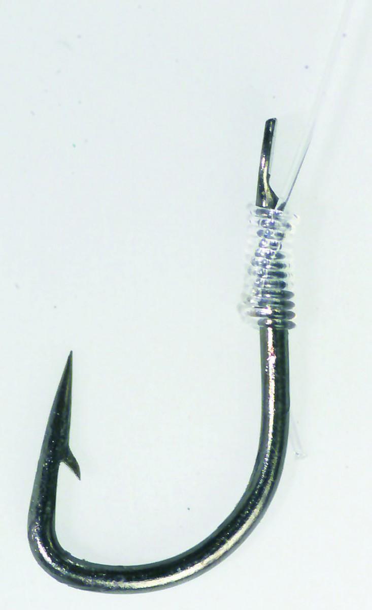 Крючок с поводком  Balzer Camtec фидерный №12  10шт.