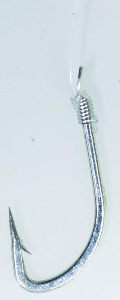 Крючок с поводком  Balzer Camtec на опарыша №8  10шт.