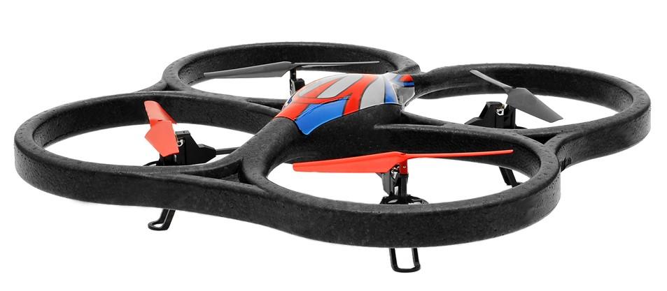 Квадрокоптер большой р/у 2.4GHz WL Toys V333 Cyclone 2 с камерой